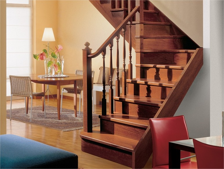 Scale cagliari scale per interni - Scale in legno per interno ...